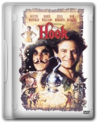 Capa do Filme Hook A Volta do Capitão Gancho