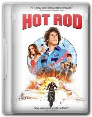 Capa do Filme Hot Rod Loucos Sobre Rodas