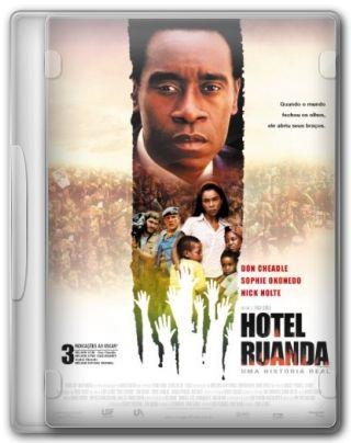 Capa do Filme Hotel Ruanda