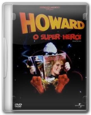Capa do Filme Howard, o Super-Herói