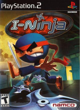 Capa Jogo I-Ninja PS2