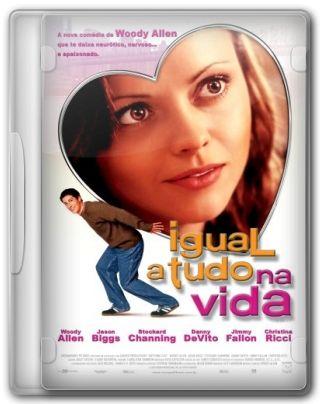 Capa do Filme Igual a Tudo na Vida