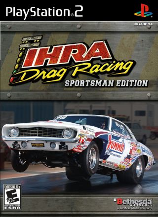 Capa Jogo IHRA Drag Racing Sportsman Edition PS2