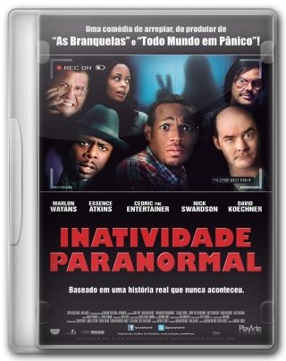 Capa do Filme Inatividade Paranormal