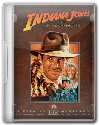 Capa do Filme Indiana Jones e o Templo da Perdição