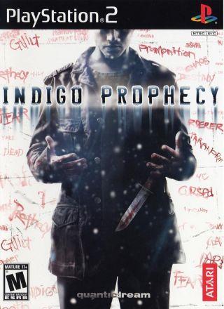 Capa Jogo Indigo Prophecy PS2