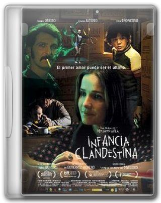 Capa do Filme Infância Clandestina
