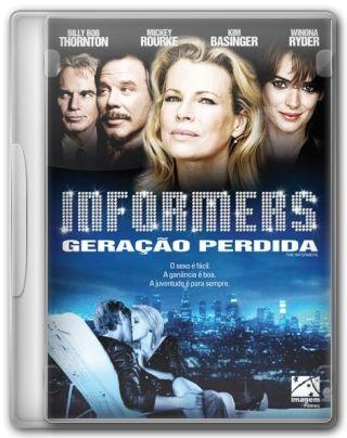Capa do Filme Informers Geração Perdida