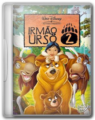 Capa do Filme Irmão Urso 2