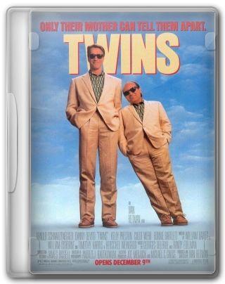 Capa do Filme Irmãos Gêmeos