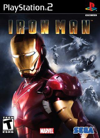 Capa Jogo Iron Man PS2