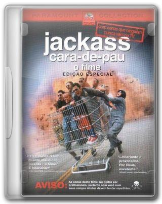 Capa do Filme Jackass Cara-de-Pau O Filme