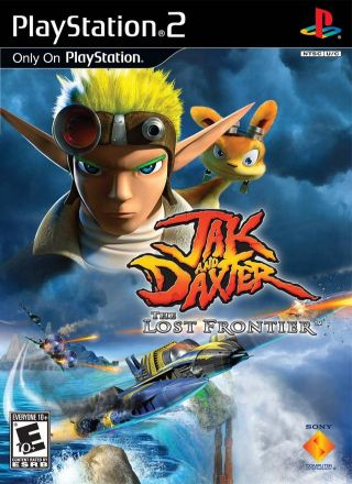 Capa Jogo Jak and Daxter The Lost Frontier PS2