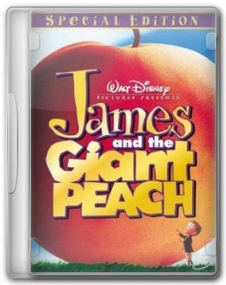 Capa do Filme James and the Giant Peach