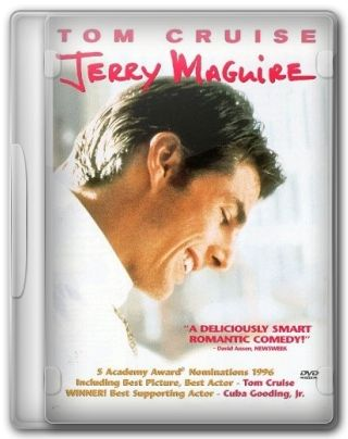 Capa do Filme Jerry Maguire A Grande Virada