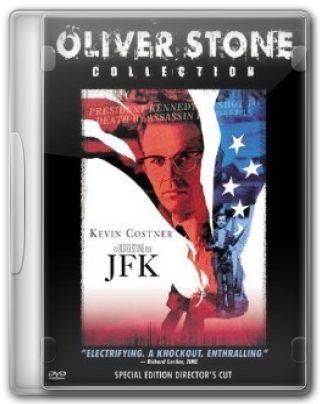 Capa do Filme JFK - A Pergunta que Não Quer Calar
