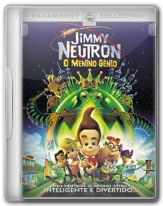 Capa do Filme Jimmy Neutron O Menino Gênio