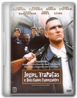 Capa do Filme Jogos, Trapaças e Dois Canos Fumegantes