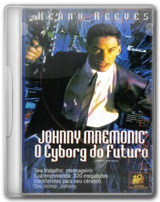 Capa do Filme Johnny Mnemonic: O Cyborg do Futuro