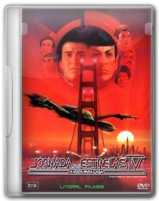 Capa do Filme Jornada nas Estrelas IV A Volta para Casa