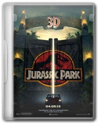 Capa do Filme Jurassic Park O Parque dos Dinossauros