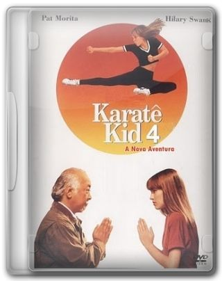 Capa do Filme Karate Kid 4 A Nova Aventura
