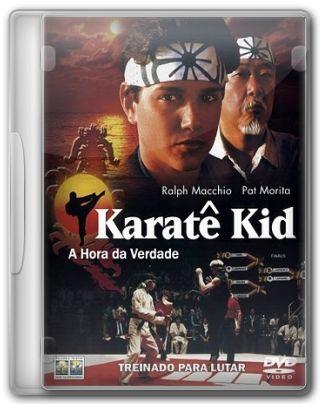 Capa do Filme Karatê Kid A Hora da Verdade