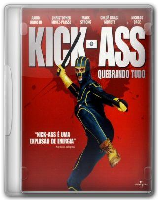 Capa do Filme Kick Ass Quebrando Tudo