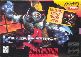 Killer Instinct SNES ROMS