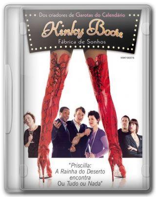 Capa do Filme Kinky Boots Fábrica de Sonhos