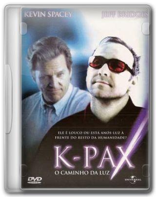 Capa do Filme K-Pax - O Caminho da Luz