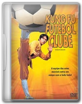 Capa do Filme Kung-Fu Futebol Clube