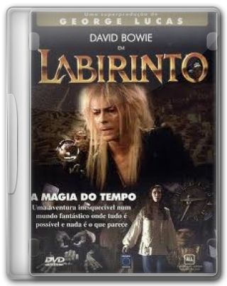 Capa do Filme Labirinto A Magia do Tempo