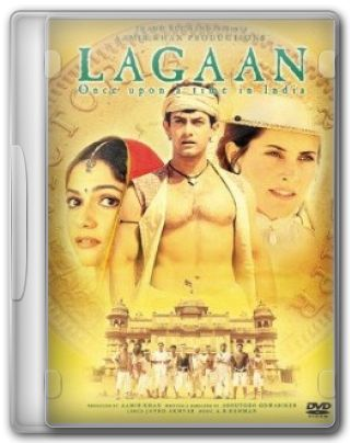 Capa do Filme Lagaan Era Uma Vez Na ndia