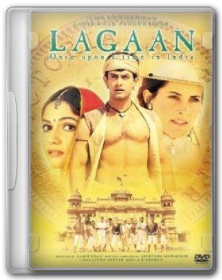 Capa do Filme Lagaan Era Uma Vez Na Índia