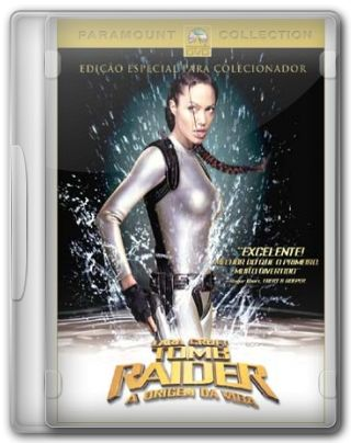 Capa do Filme Lara Croft Tomb Raider A Origem da Vida