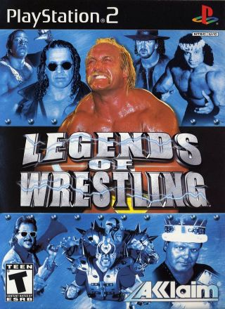 Capa Jogo Legends of Wrestling PS2