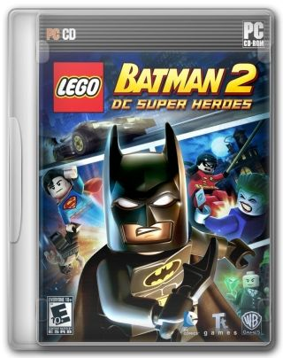 Capa Jogo LEGO Batman 2 DC Super Heroes PC