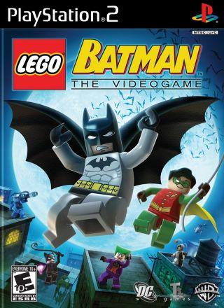 Capa Jogo LEGO Batman PS2