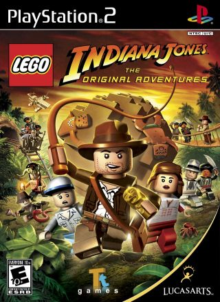 Capa Jogo LEGO Indiana Jones The Original Adventures PS2