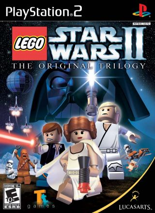 Capa Jogo LEGO Star Wars 2 The Original Trilogy PS2