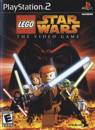 Capa Jogo LEGO Star Wars PS2