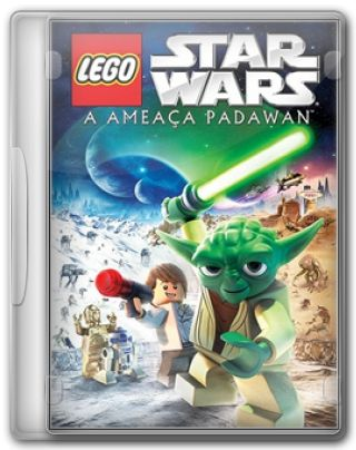 Capa do Filme LEGO Star Wars: A Ameaça Padawan