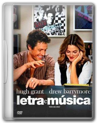 Capa do Filme Letra e Música