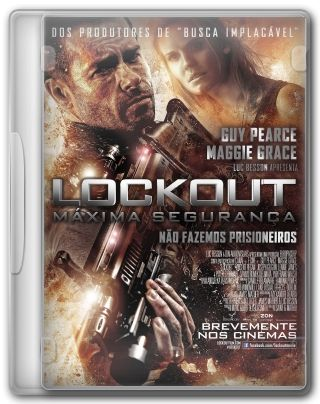Capa do Filme Lockout Máxima Segurança