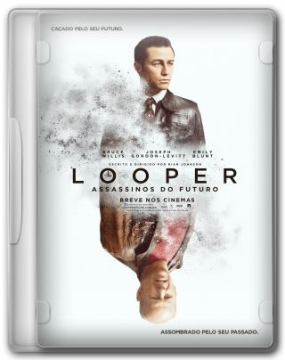Capa do Filme Looper: Assassinos do Futuro