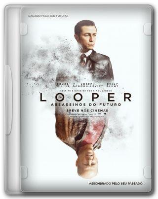 Capa do Filme Looper: Assassinos do Futuro