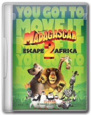 Capa do Filme Madagascar 2 A Grande Escapada