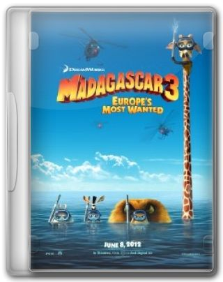 Capa do Filme Madagascar 3 Europe's Most Wanted