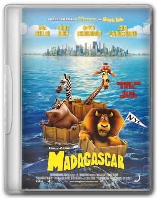 Capa do Filme Madagascar